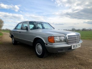 1985 Mercedes 280SE 99,000 miles Original garaged For Sale