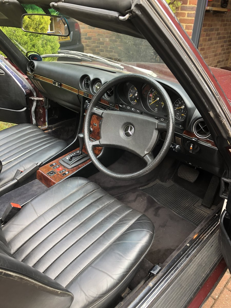 Mercedes Benz 500SL 1985  For Sale (picture 5 of 5)