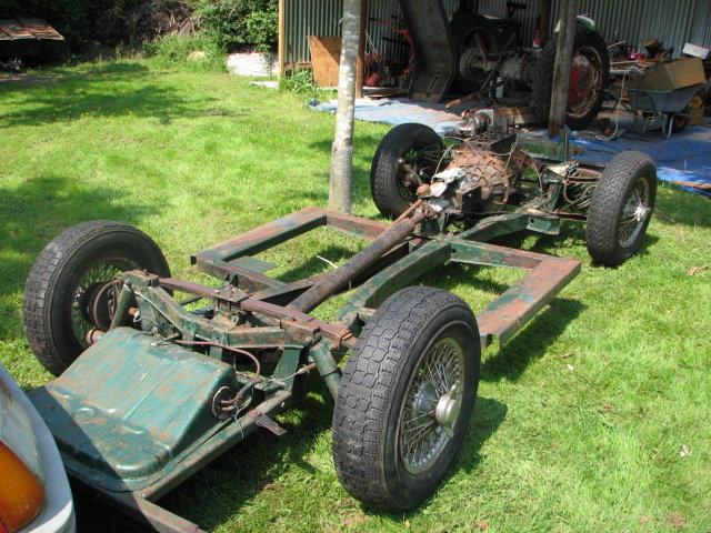 1966 Triumph Herald Sports Car Project SOLD (picture 1 of 6)