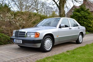 1991 Mercedes 190E 2.0 *Superb Condition and History*