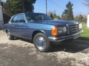 1983 Mercedes-Benz 230 CE Auto W123 Pillarless Coupe