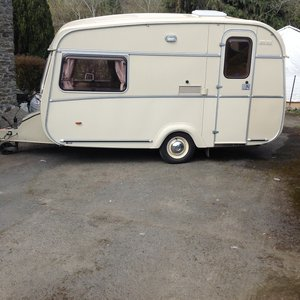 1980 Castleton rovana 2 berth caravan For Sale
