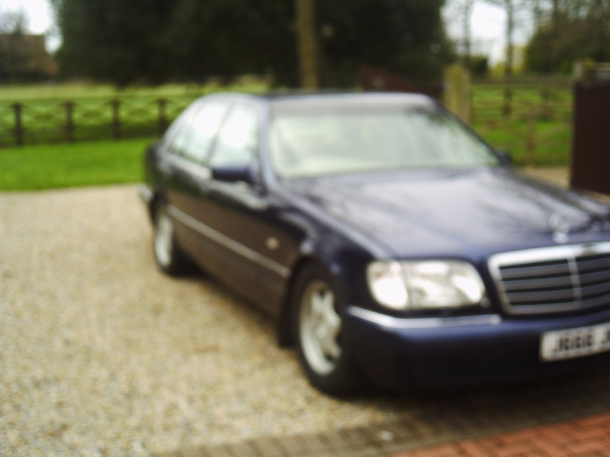 1998 MERCEDSE L140  last of the great S class mercs For Sale (picture 1 of 6)