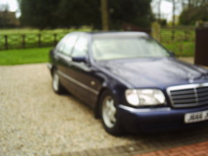 Picture of 1998 MERCEDSE L140  last of the great S class mercs