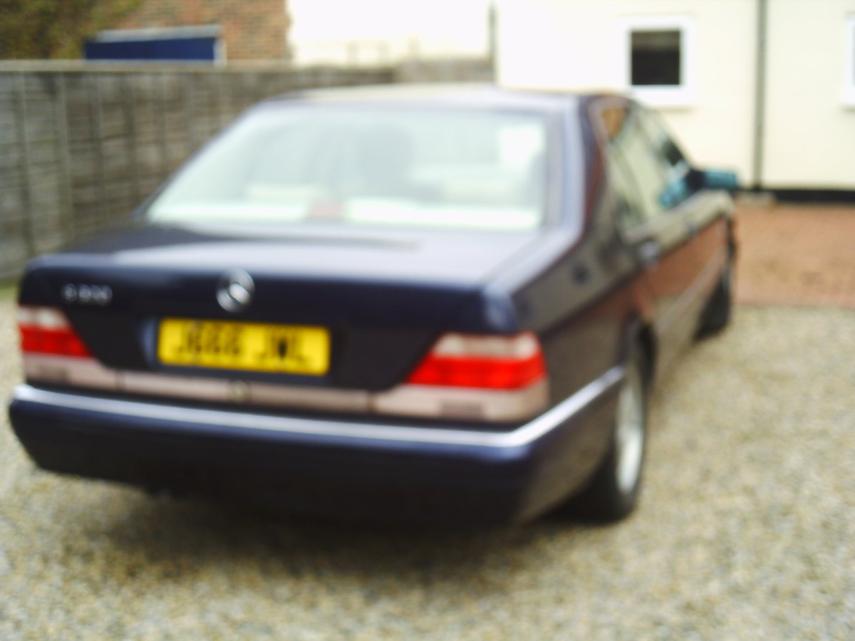 1998 MERCEDSE L140  last of the great S class mercs For Sale (picture 2 of 6)