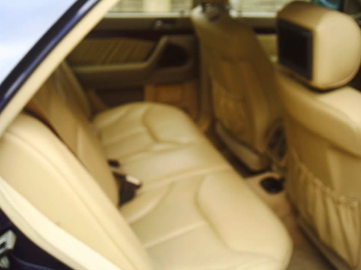 1998 MERCEDSE L140  last of the great S class mercs For Sale (picture 3 of 6)