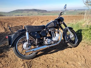 1955 AJS 18S 500 Single