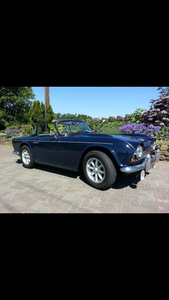 TR4 1963 OVERDRIVE
