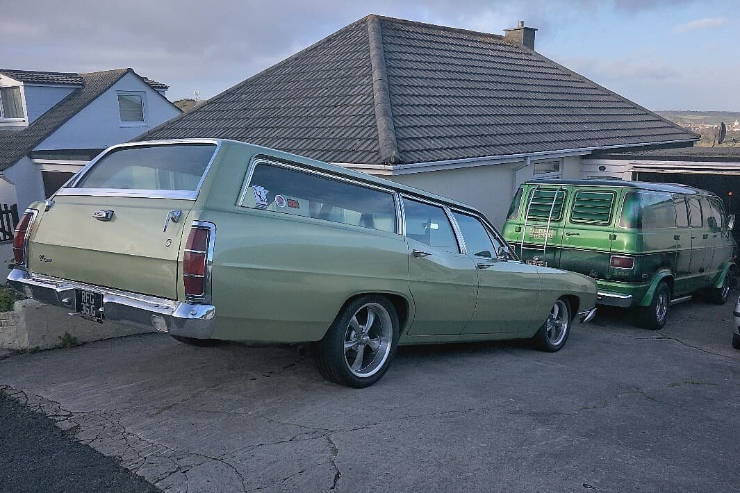 1969 Ford Country Sedan Station Wagon For Sale (picture 4 of 6)