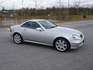 2002 MERCEDES 320 SLK CONVERTIBLE For Sale