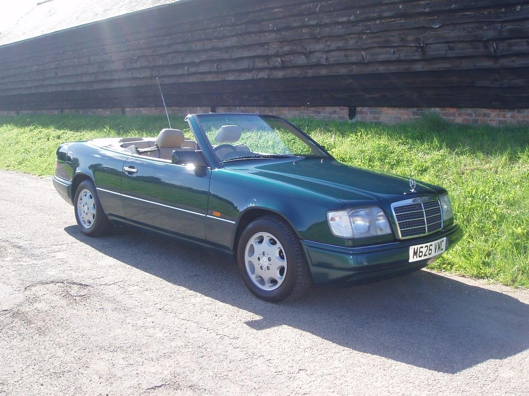 1995 Mercedes E220 Cabriolet A124. SOLD (picture 1 of 6)