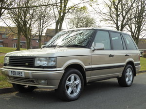 1999 Exceptional low mileage P38 Range Rover Anniversar For Sale