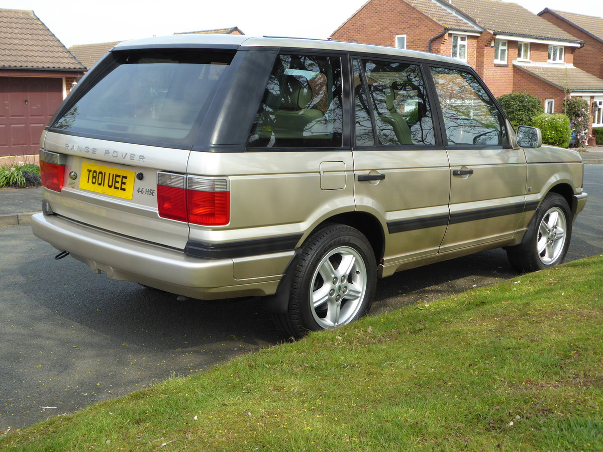 1999 Exceptional low mileage P38 Range Rover Anniversar For Sale (picture 2 of 6)