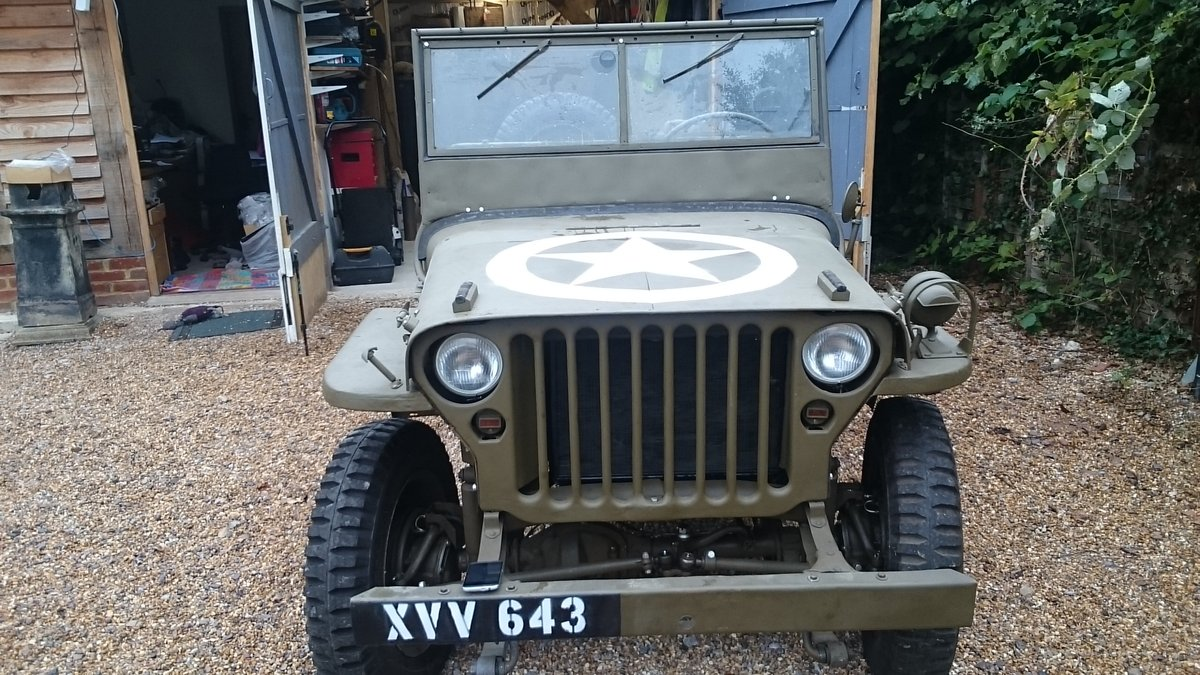 1963 A genuine British Army WW2 jeep For Sale (picture 1 of 6)