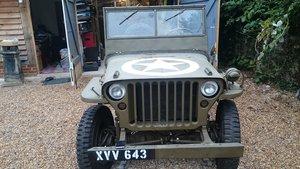 1963 A genuine British Army WW2 jeep For Sale