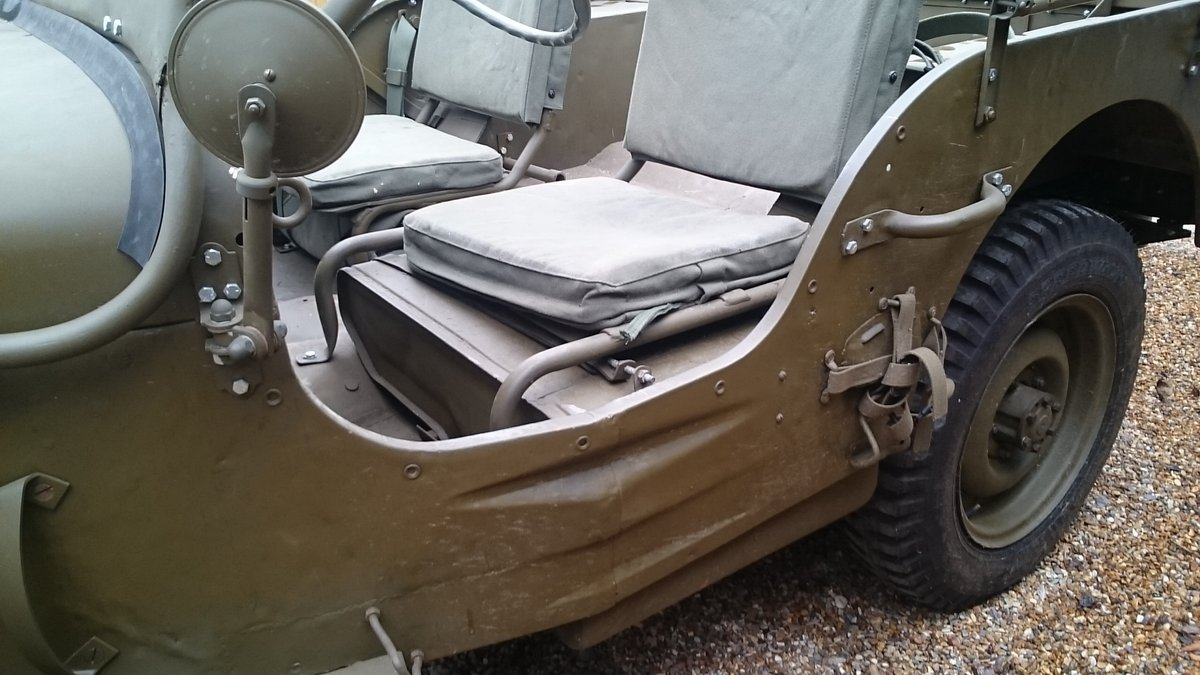 1963 A genuine British Army WW2 jeep For Sale (picture 4 of 6)