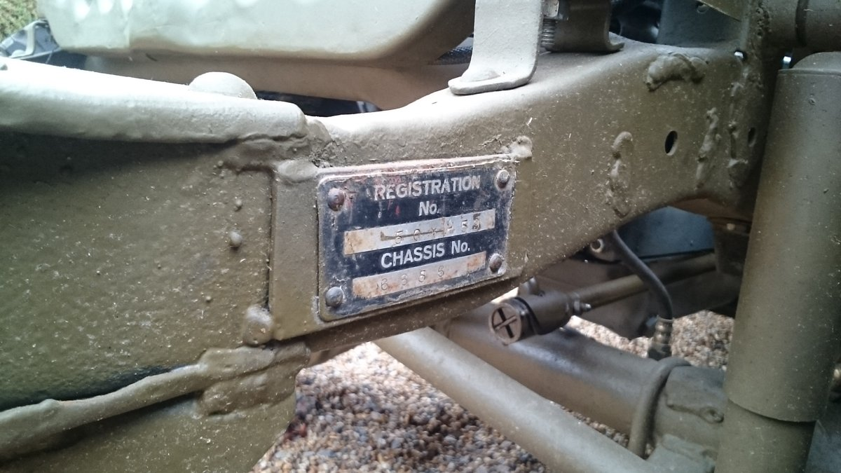 1963 A genuine British Army WW2 jeep For Sale (picture 6 of 6)