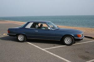 1981 Mercedes 380SLC  - rare high spec car SOLD