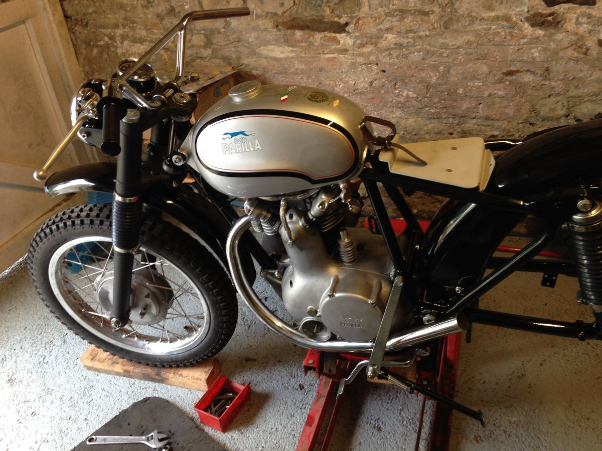 1961 Moto Parilla Wildcat for sale For Sale (picture 6 of 6)