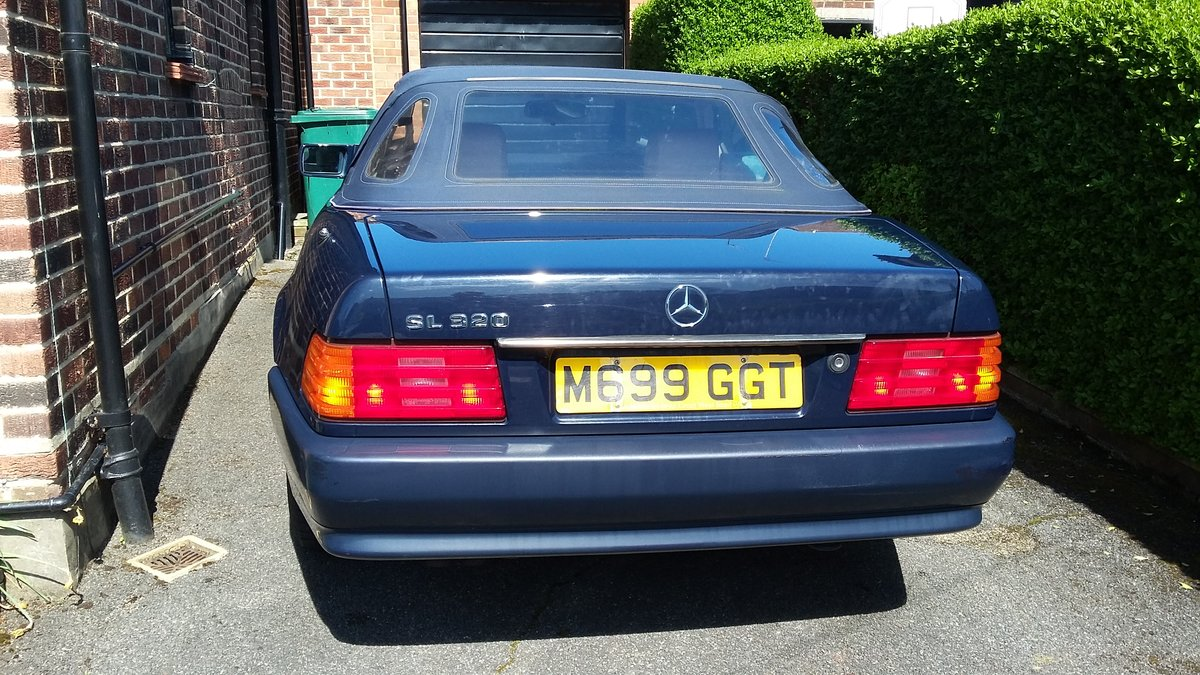 MERCEDES SL320 1995 54,000 miles SOLD (picture 2 of 6)