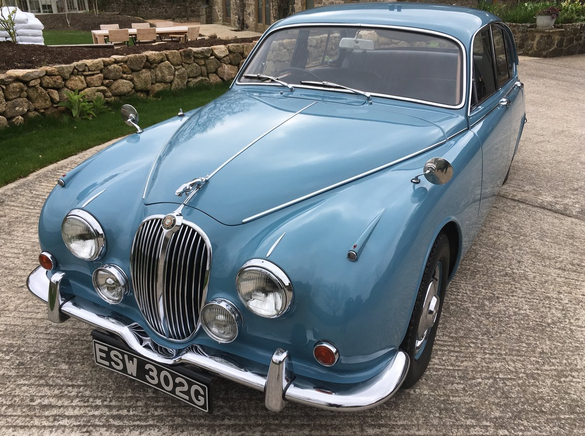 1969 Superb restored Jaguar 240 For Sale (picture 1 of 6)