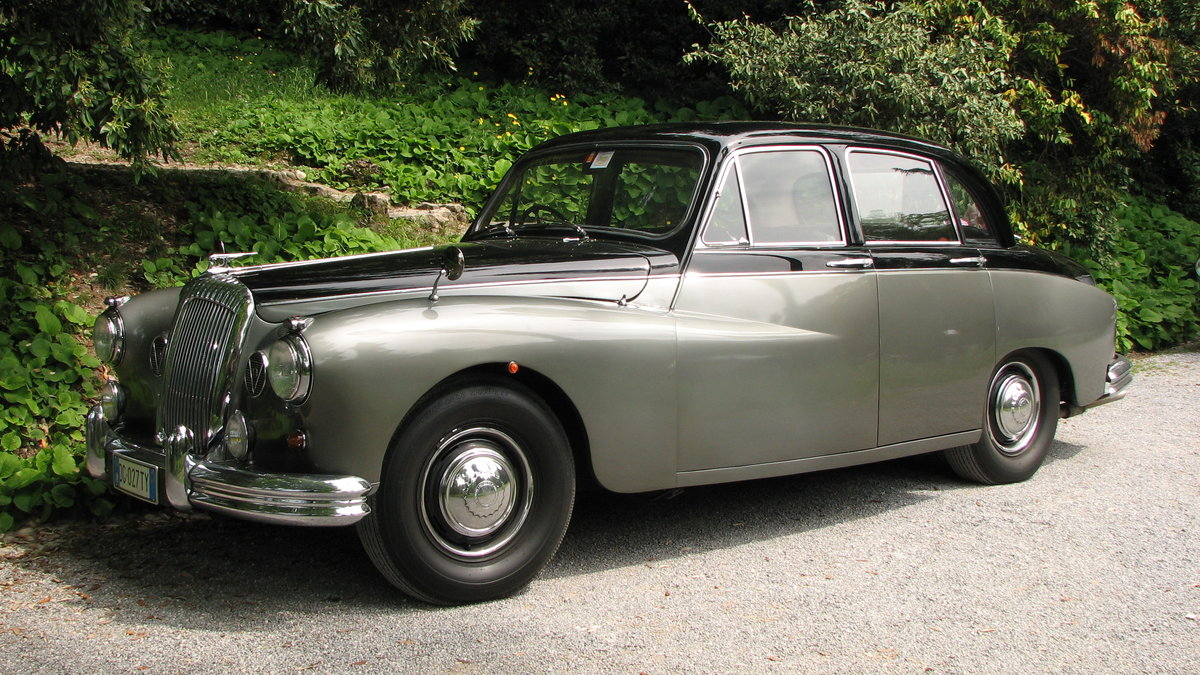 1961 Daimler Majestic Major 4,5 V8 very original ! For Sale (picture 3 of 6)