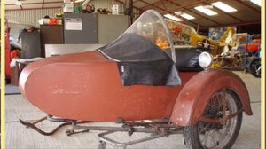 Harley Davidson LE Big Twin Sidecar 1936-1948 For Sale