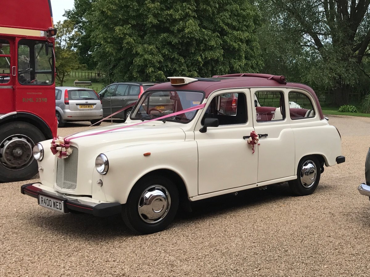 1997 Classic Wedding Taxi London Black Cab LTI Fairway SOLD (picture 1 of 6)