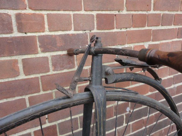 1880 Very Smart Penny Farthing For Sale (picture 3 of 6)