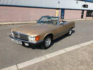 1984 Mercedes sl 280