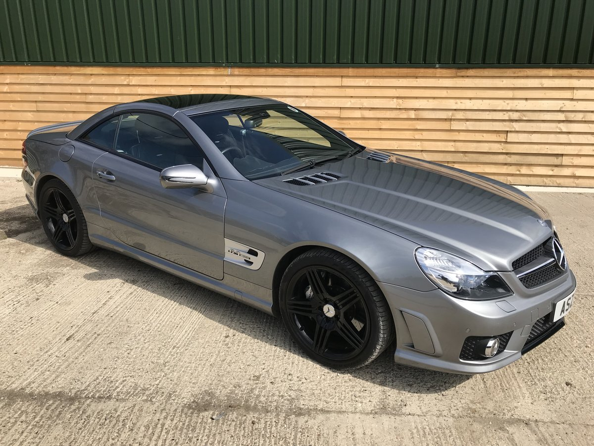 2008 Mercedes-Benz SL 63 AMG For Sale (picture 1 of 6)