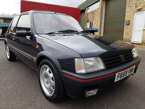 1989 Stunning Restored Peugeot 205 1.9 Gti For Sale
