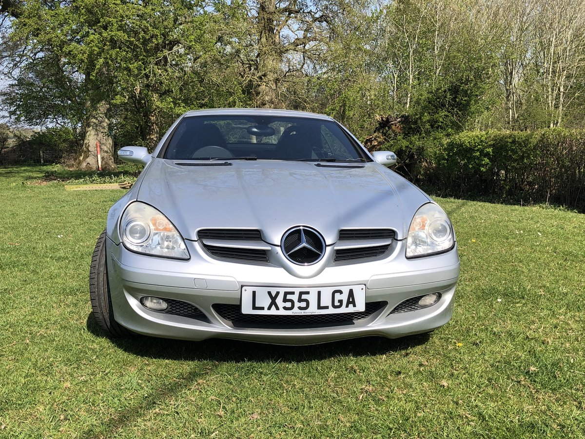 2005 Mercedes SLK 200 Kompressor - auto For Sale (picture 2 of 6)
