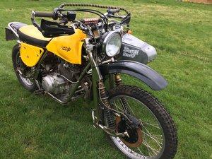 1976 Wasp RT15 Trials sidecar
