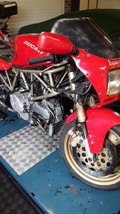 Ducati 750ss 1993 project