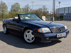 1995 MERCEDES-BENZ SL 320 ALMANDINE CABRIOLET 1YEAR MOT For Sale