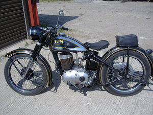 1951 Classic German motorcycle