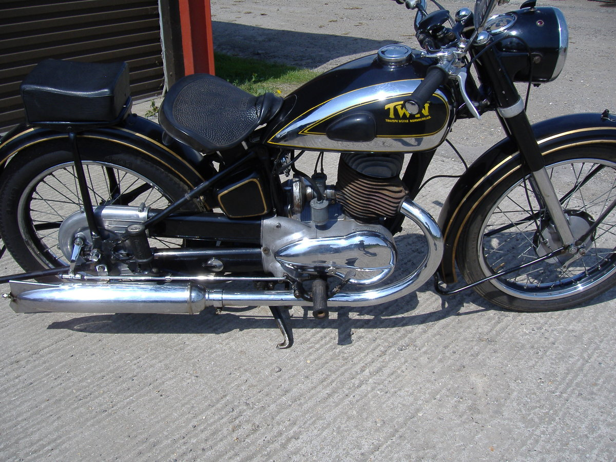 1951 Classic German motorcycle For Sale (picture 3 of 6)