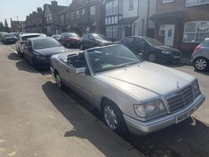 1994 VERY RARE Mercedes E220 Sportline Cabrio AUTO For Sale