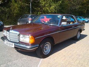 Mercedes-Benz 230CE, Coupe, 1985, Auto For Sale