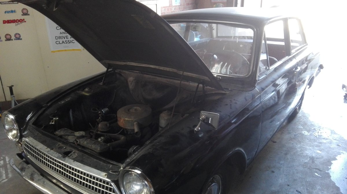 1963 Barnfind cortina 2,doors For Sale (picture 2 of 3)