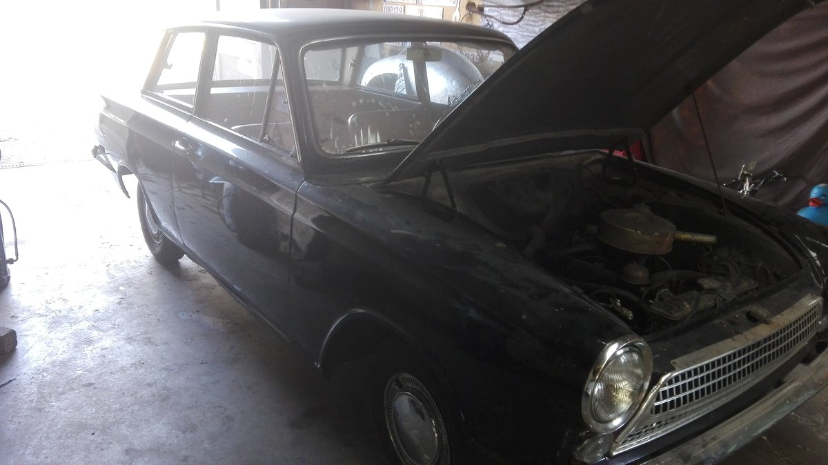 1963 Barnfind cortina 2,doors For Sale (picture 3 of 3)