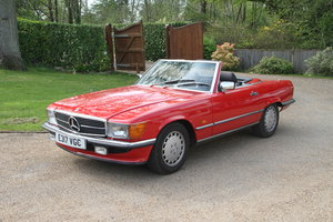 1987 Mercedes 300SL R107 56,242 miles For Sale