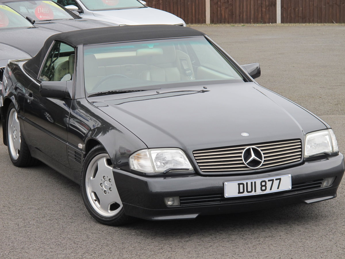 1994 Mercedes SL320....FABULOUS....56,000 Miles For Sale (picture 1 of 6)
