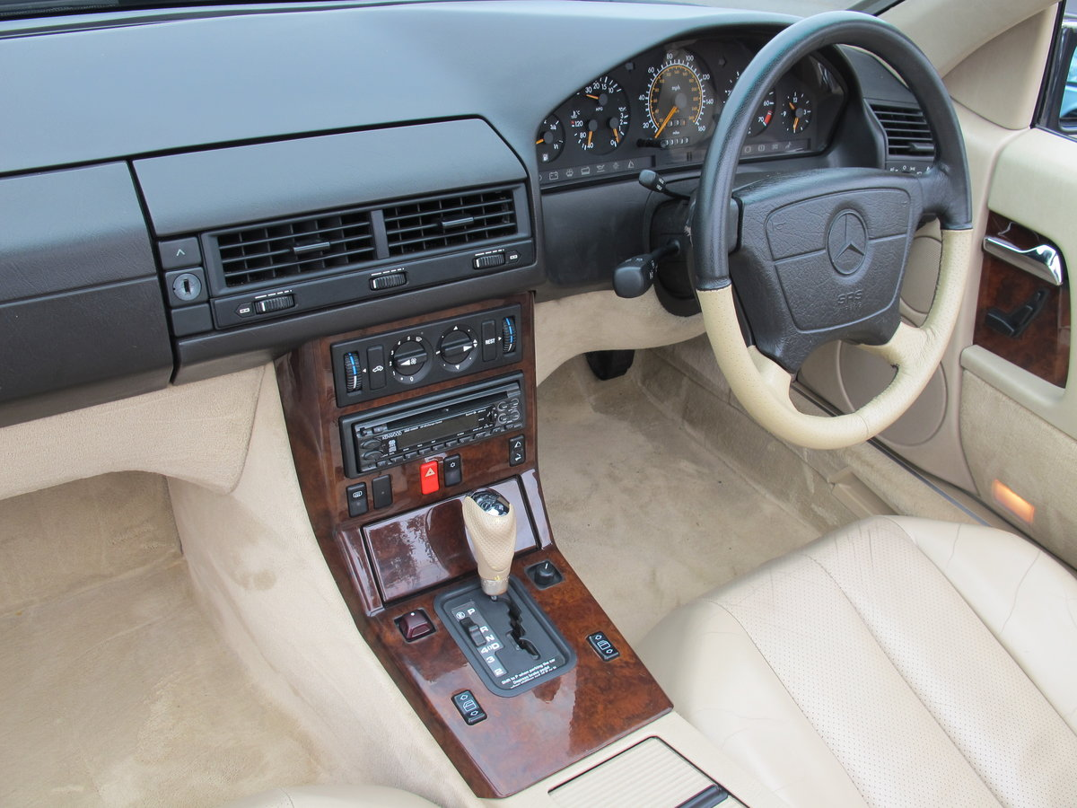 1994 Mercedes SL320....FABULOUS....56,000 Miles For Sale (picture 3 of 6)