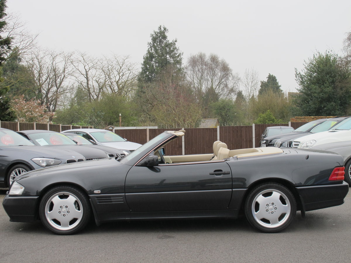 1994 Mercedes SL320....FABULOUS....56,000 Miles For Sale (picture 5 of 6)