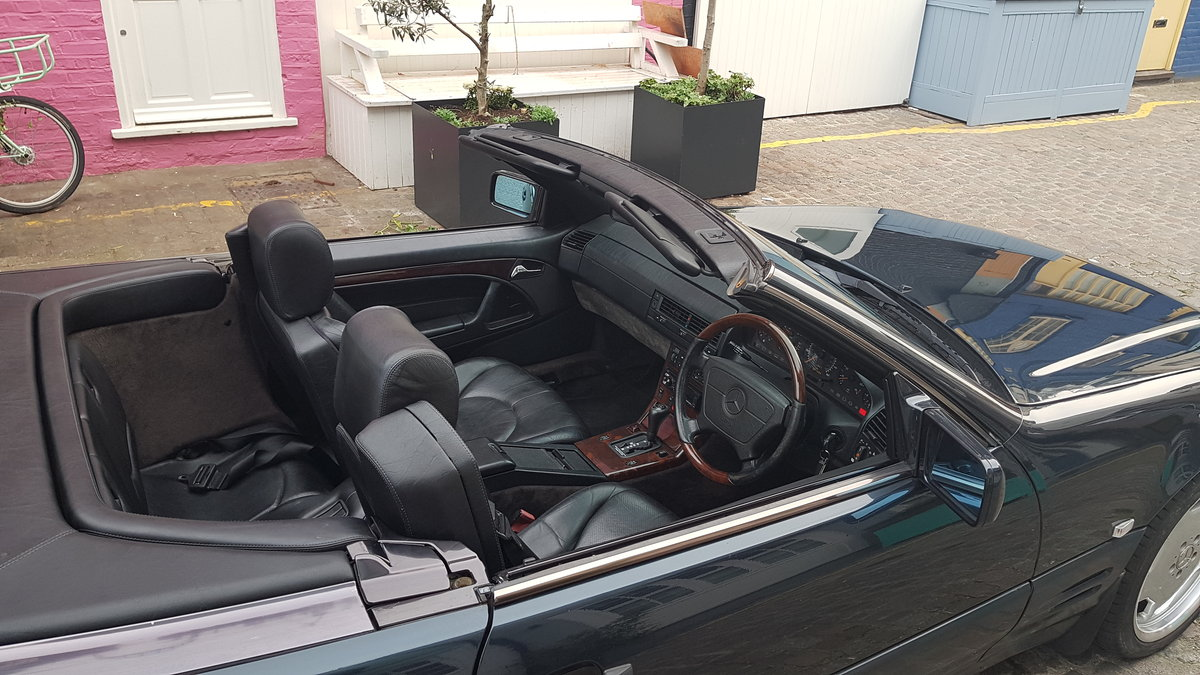 low milage 1998 R129 320 sl mercedes For Sale (picture 6 of 6)