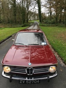 1972 Mint Condition BMW 2000 Touring
