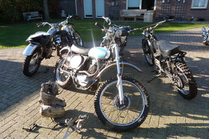 1971 BSA B50MX Triumph TR 5 MX   Goldstar