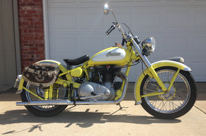 1973 FOR SALE : 1949 Indian Scout For Sale